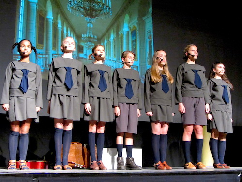 Sound of Music Musical at the International School of Hamburg